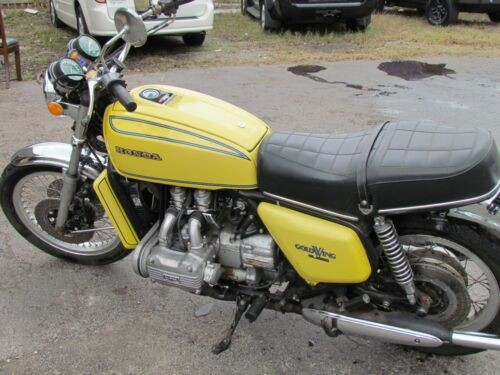 1976 Honda GL1000 Yellow photo