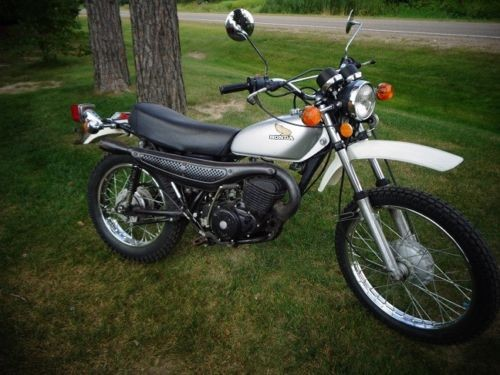1976 Honda MT 250 ELSINORE Silver for sale craigslist