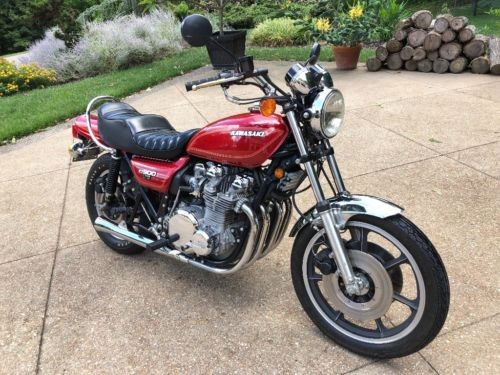 1976 Kawasaki KZ900 LTD Red craigslist