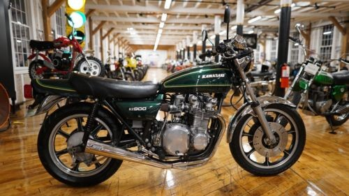 1976 Kawasaki KZ900-A4 Diamond Dark Green photo