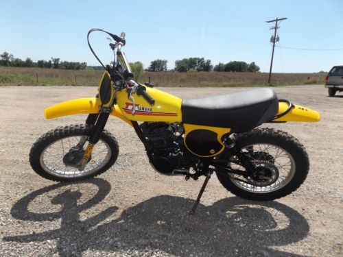 1976 Yamaha XT500 – Stripped to TT500 Off-Road Yamaha Clean White for sale craigslist