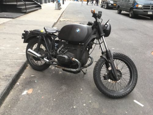1977 BMW R-Series matt black photo