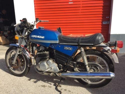1977 Ducati Other Blue photo