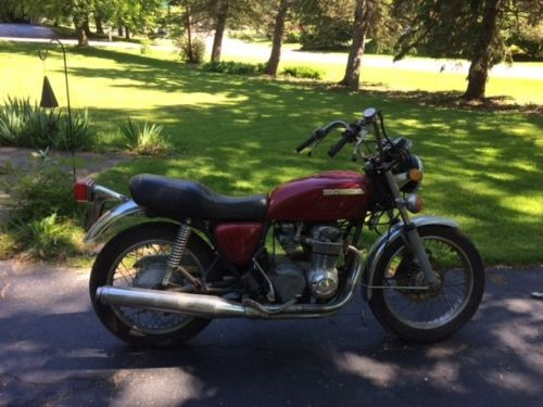 1977 Honda CB Burgundy for sale