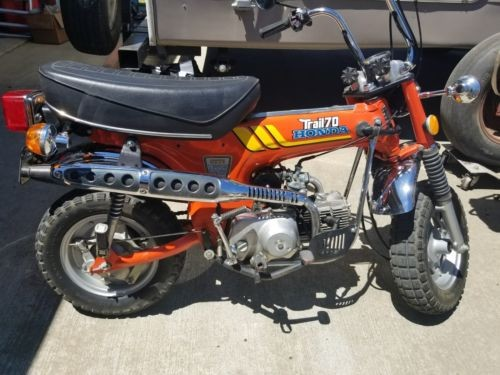 1977 Honda CT Orange photo