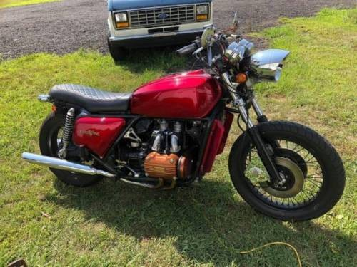 1977 Honda Gold Wing Red photo