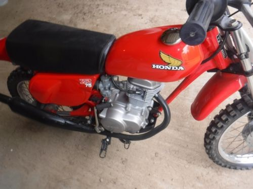 1977 Honda XR Red for sale craigslist