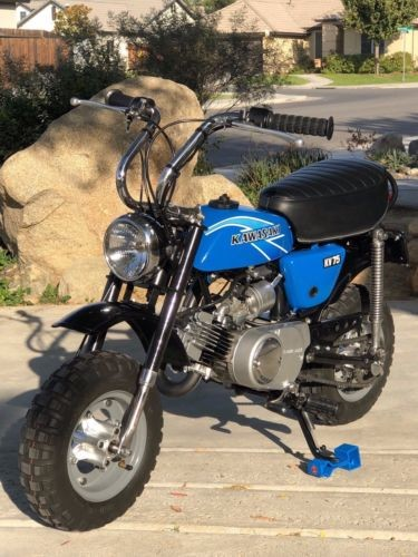 1977 Kawasaki KV75 A6 Blue photo
