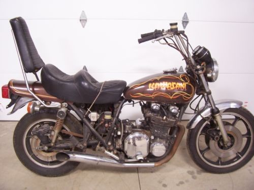 1977 Kawasaki KZ 900 Z1 brown photo