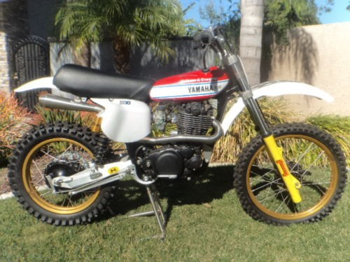 1977 Yamaha Aberg Replica Red for sale