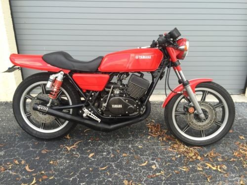1977 Yamaha RD400 Red for sale craigslist