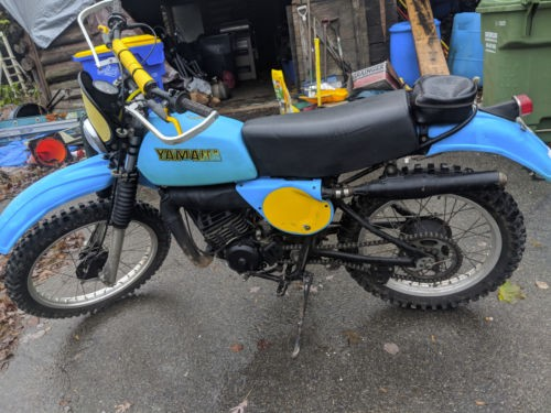 1977 Yamaha TT Blue photo
