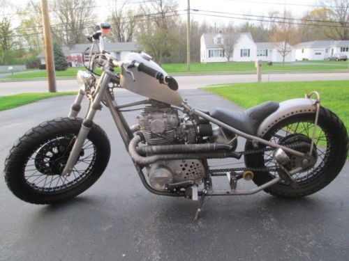 1977 Yamaha XS XS650 Bare Metal Bobber Magazine Bike Bare Metal craigslist