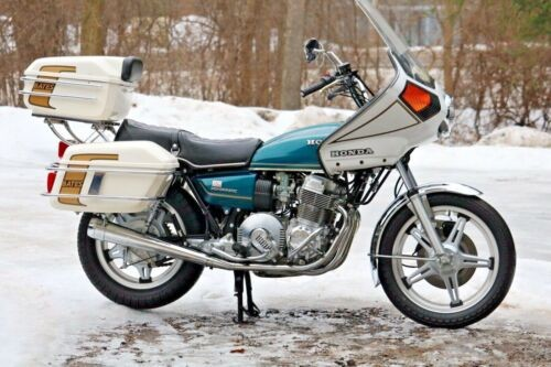 1978 Honda CB Teal photo