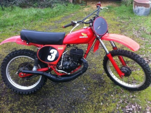 1978 Honda CR125 Red photo