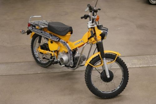 1978 Honda CT -- Yellow photo