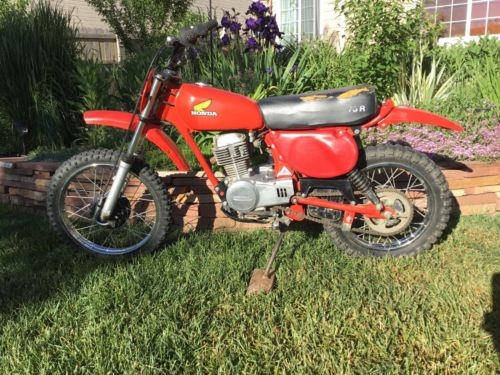 1978 Honda XR Red for sale