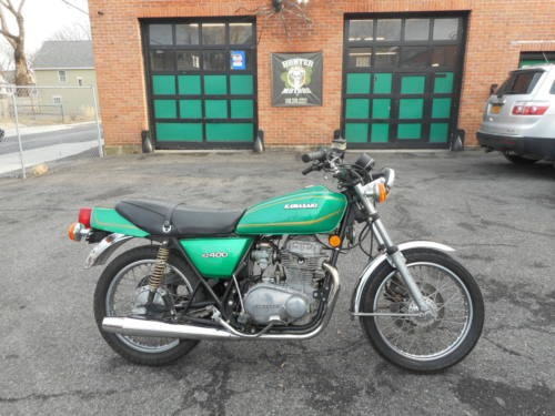 1978 Kawasaki KZ 400 Green for sale craigslist