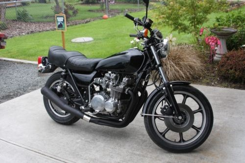 1978 Kawasaki KZ650 Black photo