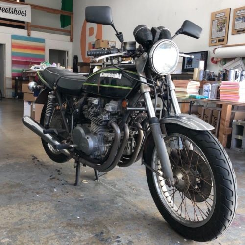 1978 Kawasaki Kawasaki KZ650 B Black for sale craigslist