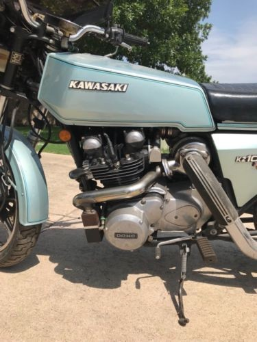 1978 Kawasaki Z1R Silver for sale