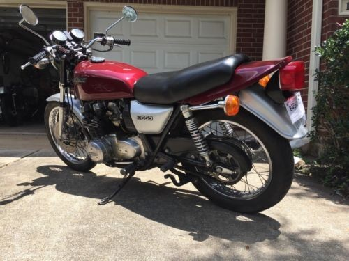 1978 Kawasaki kz650 maroon for sale