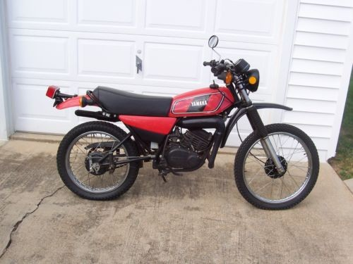 1978 Yamaha 175 Enduro Red photo