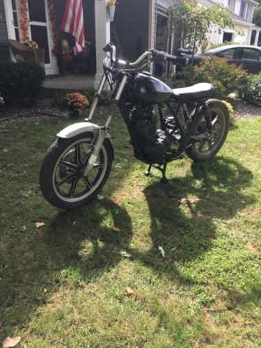1978 Yamaha SR500 Black for sale