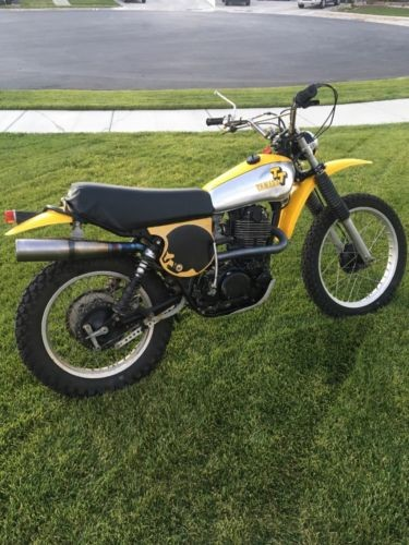 1978 Yamaha TT Yellow photo