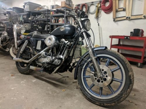 1979 Harley-Davidson Sportster Blue for sale craigslist