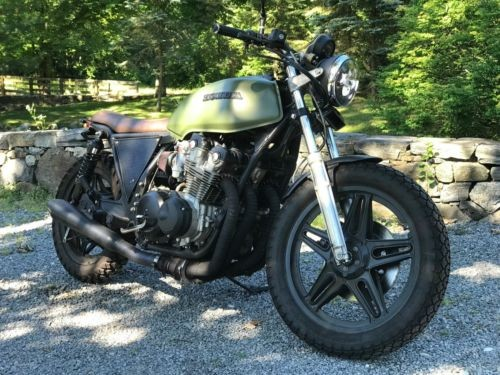 1979 Honda CB Army Green for sale craigslist