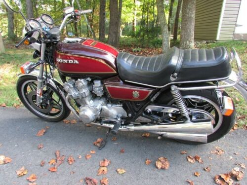 1979 Honda CB Burgundy photo