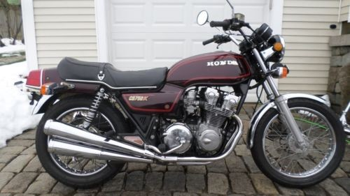 1979 Honda CB MAROON photo