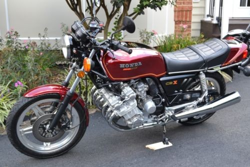 1979 Honda CBX Red for sale craigslist