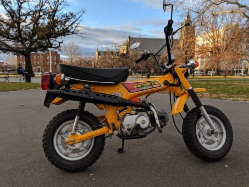 1979 Honda CT Yellow photo