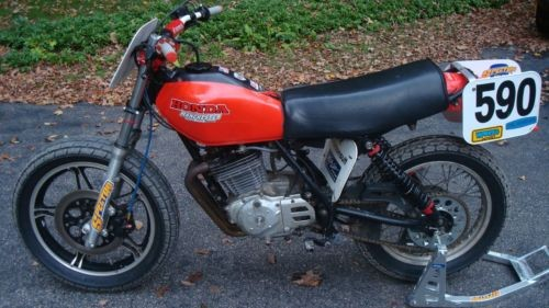 1979 Honda XR Red photo