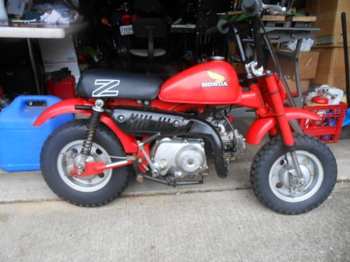 1979 Honda Z50R red for sale