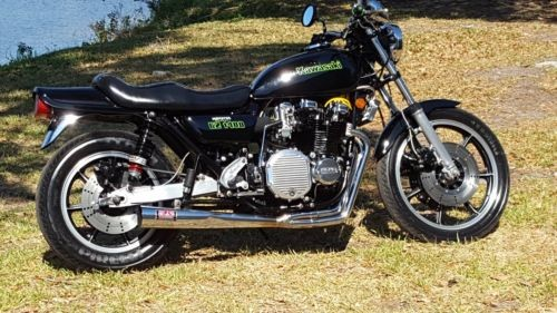 1979 Kawasaki KZ 1000 LTD Black for sale