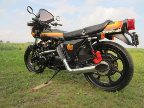 1979 Kawasaki Z1R TC TURBO Black MOLLY photo