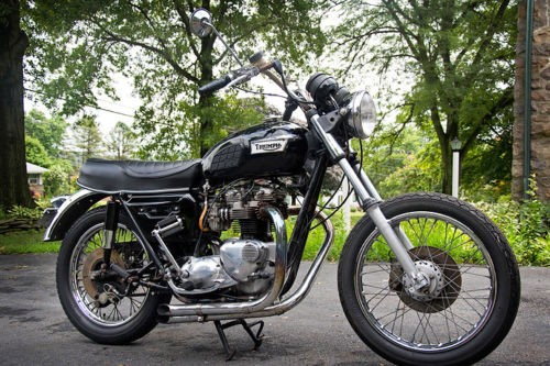 1979 Triumph Bonneville Black photo