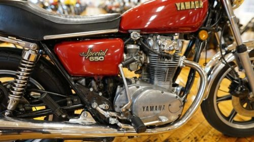 1979 Yamaha XS Red photo