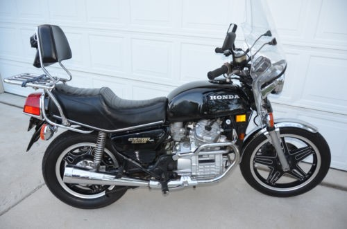 1980 Honda CX500D Black photo