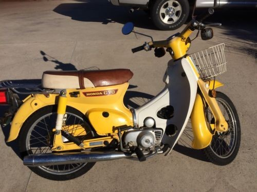 1980 Honda Other Yellow photo