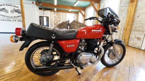 1980 Kawasaki KZ440B Red for sale