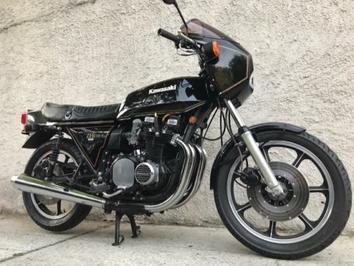 1980 Kawasaki Z1R Black for sale
