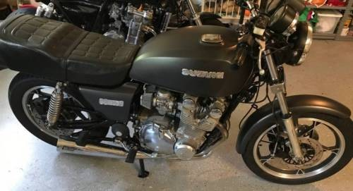 1980 Suzuki GS Gray photo
