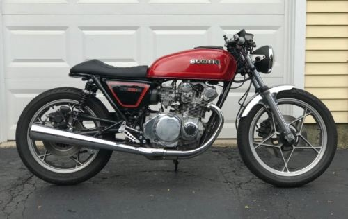 1980 Suzuki GS550E Red photo