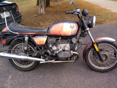 1981 BMW R-Series Orange photo