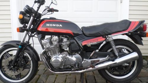 1981 Honda CB BLACK photo