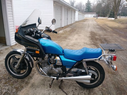 1981 Honda CB Blue photo
